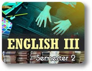 English III - Semester - 2