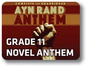 English Reading w/Novel: Anthem