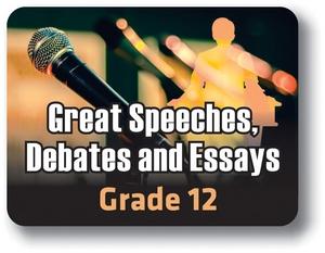 Great Speeches, Debates and Essays