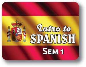 Spanish I - Semester - 1