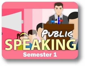 Public Speaking - Semester - 1 Introduction
